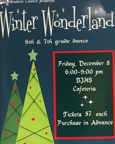 BJHS Student Council to present 'Winter Wonderland' dance