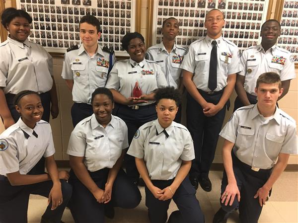 AFJROTC recognized for efforts