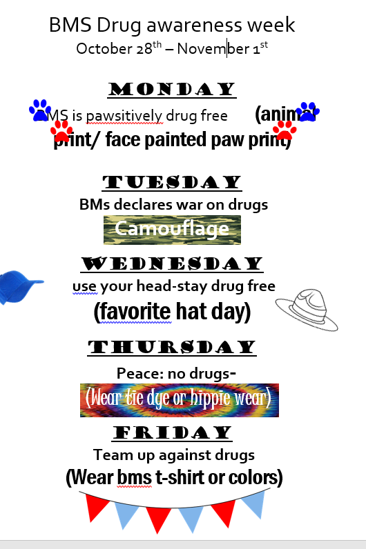 BMS Red Ribbon Week Activities