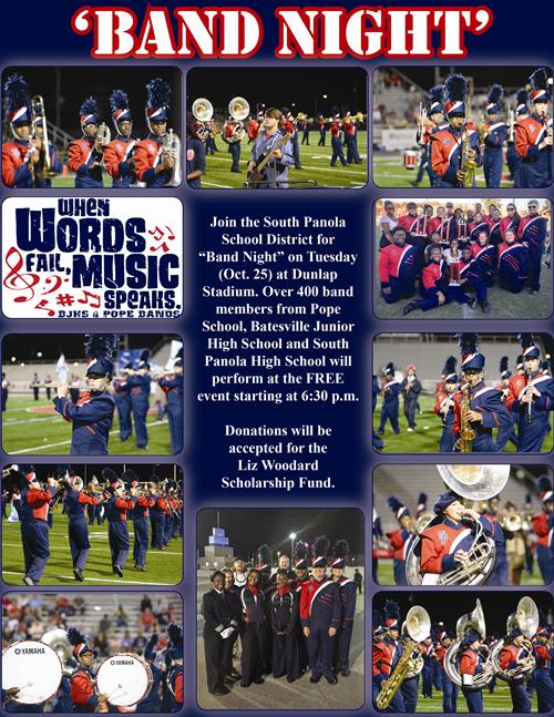 SPSD 'Band Night' set for Tuesday (Oct. 25)
