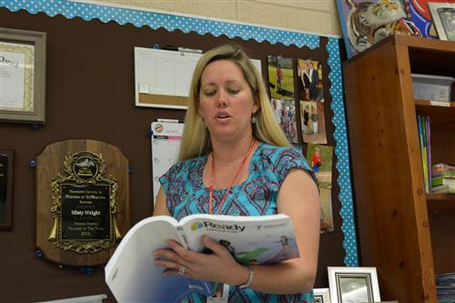 Wright named MCTM Teacher of the Year