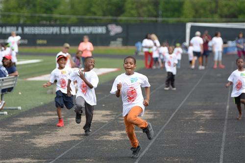 Students win big in annual Track and Field Day