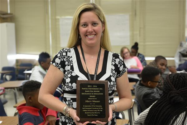 The Wright choice: BJHS teacher 'honored' to receive award