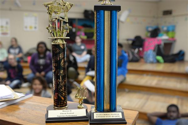 BJHS Tiger Choir fares well at state competition
