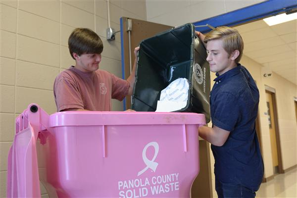Recycling program taking off at SPSD