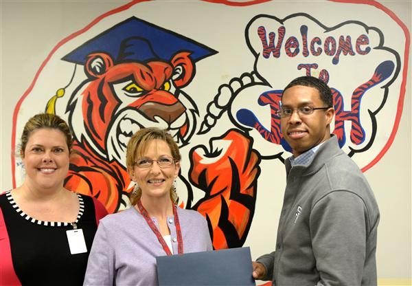 Sewell named BJHS Parent of the Year