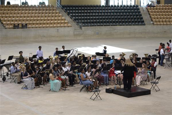 SPSD bands hold spring band concert