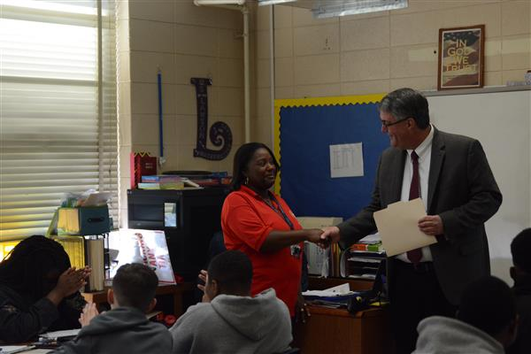 Lawson named District Teacher of the Year