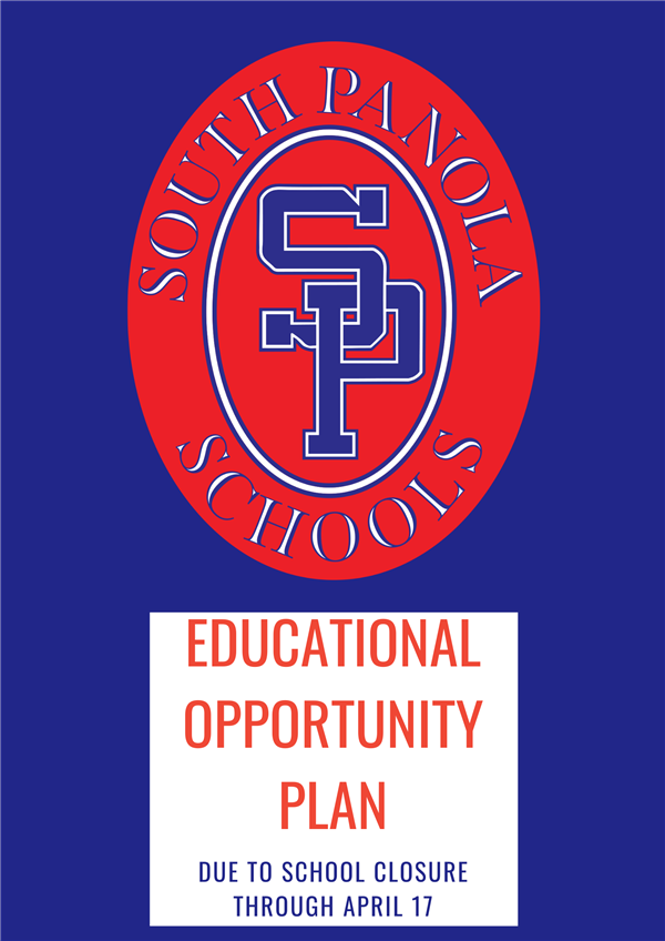 SPSD announces Educational Opportunity Plan due to school closure through April 17