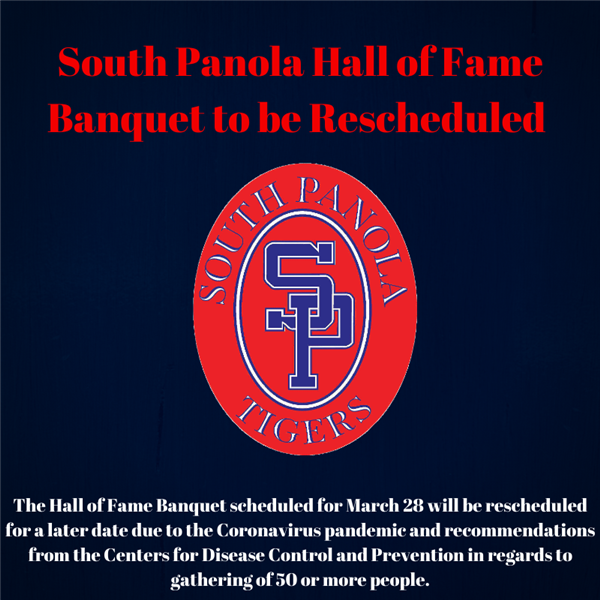 South Panola Hall of Fame Banquet to be rescheduled