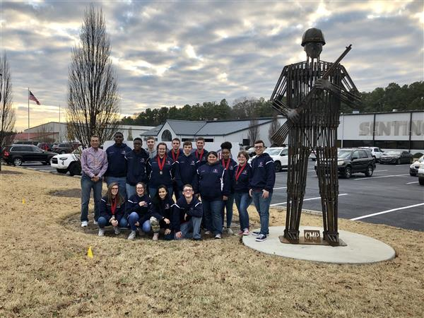 Rifle team places fourth at meet