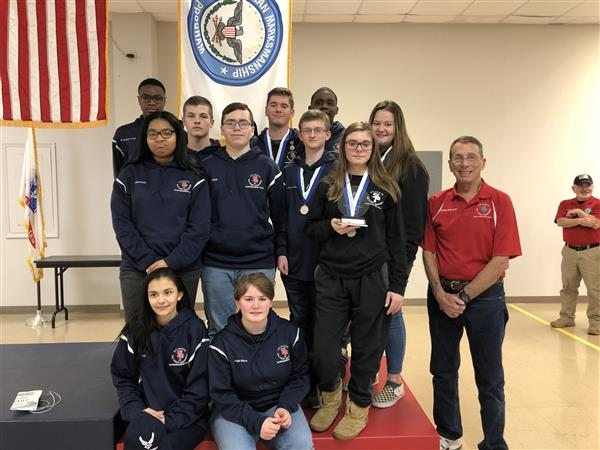 SP rifle team finishes runner-up at national competition