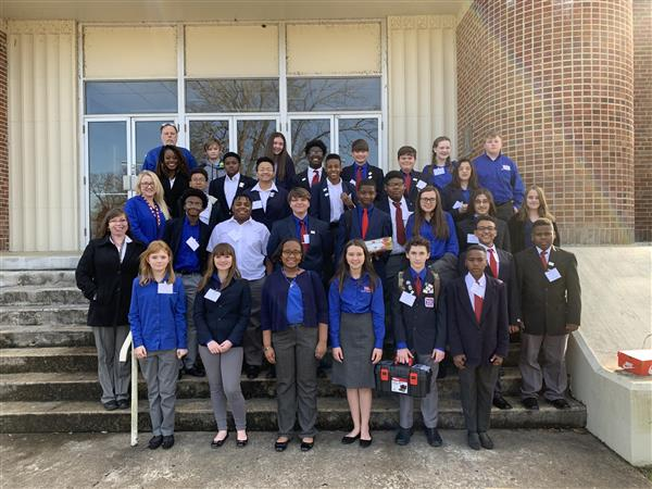 BJHS TSA students participate in district conference