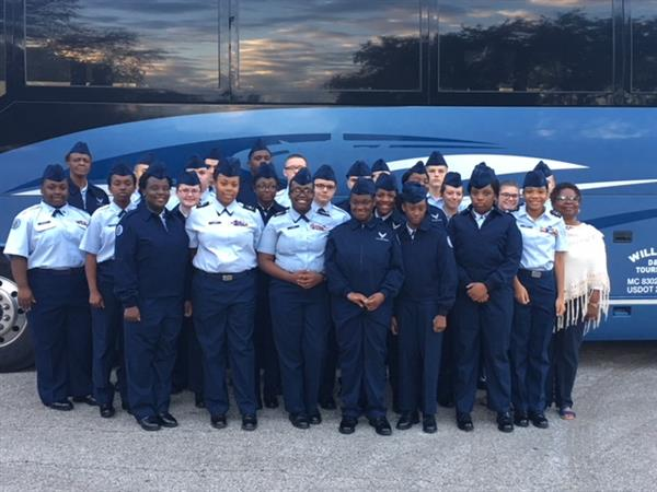 AFJROTC cadets take part in Career in Action trip