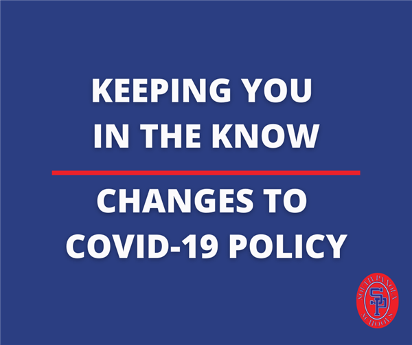 Changes to the Covid19 policy