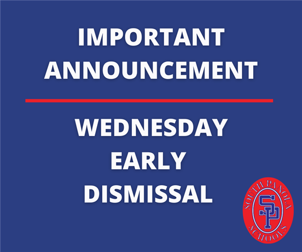 Keeping you in the know: Wednesday Early Dismissal