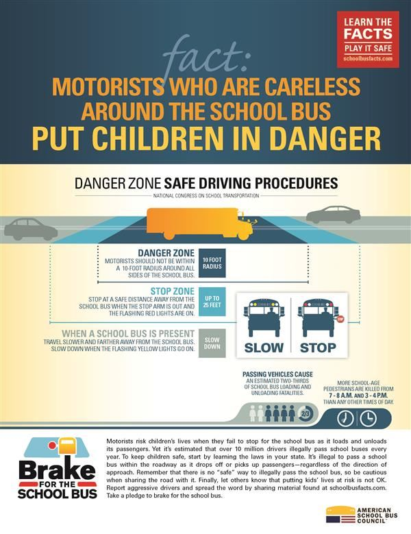 Bus safety week reminds motorists to use caution