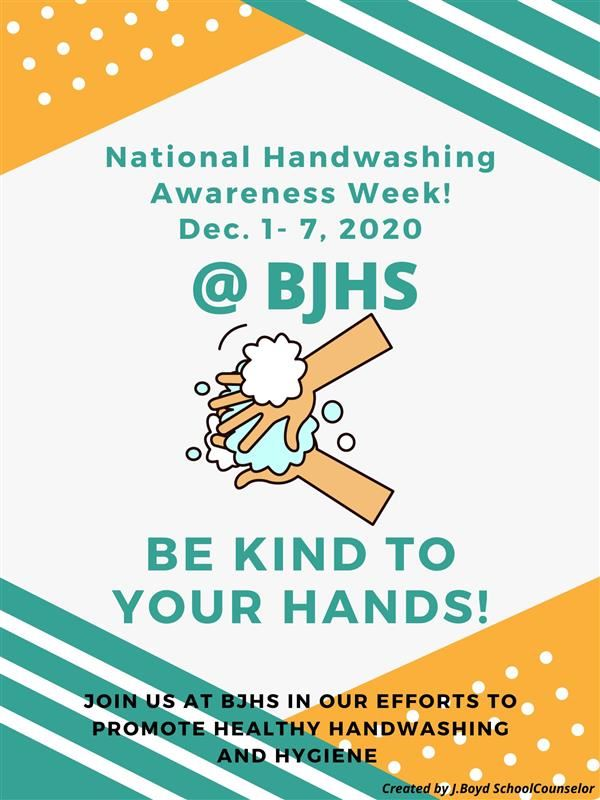 BJHS Handwashing Awareness Week