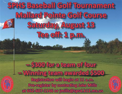 Golf tourney to benefit SP baseball