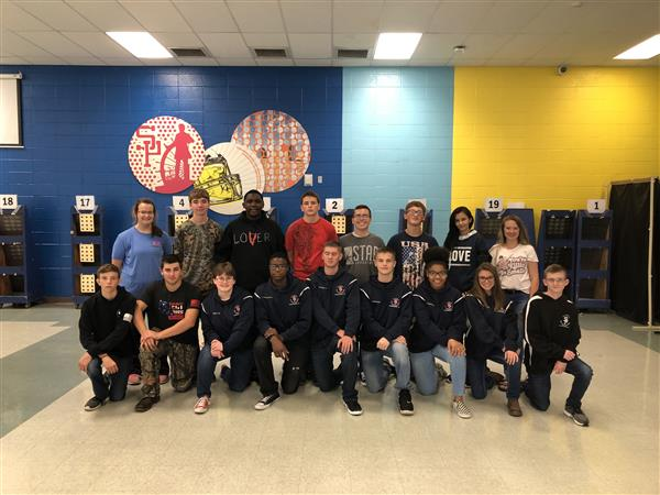 SPHS rifle team hits its mark