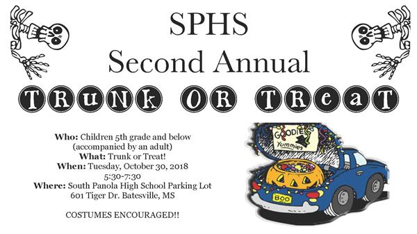 Second annual Trunk-or-Treat set for Oct. 30