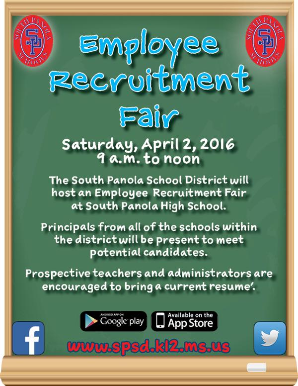 SPSD to host Employee Recruitment Fair on April 2