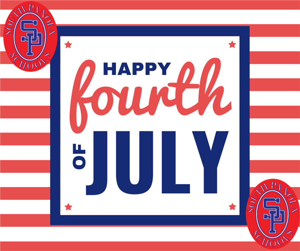 SPSD  schools and offices closed July 2-3 in observance of the Fourth of July Holiday