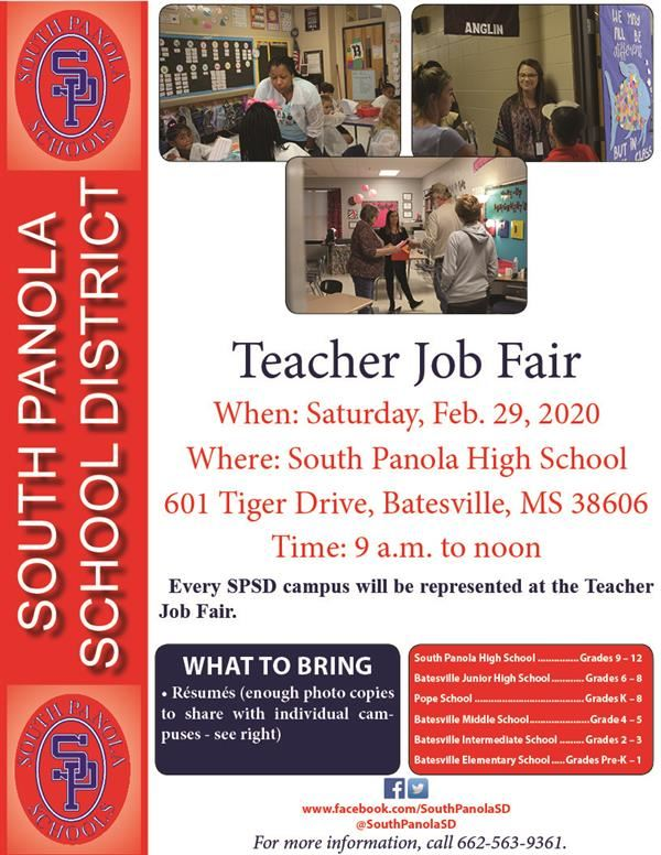 SPSD to host Teacher Job Fair on Feb. 29