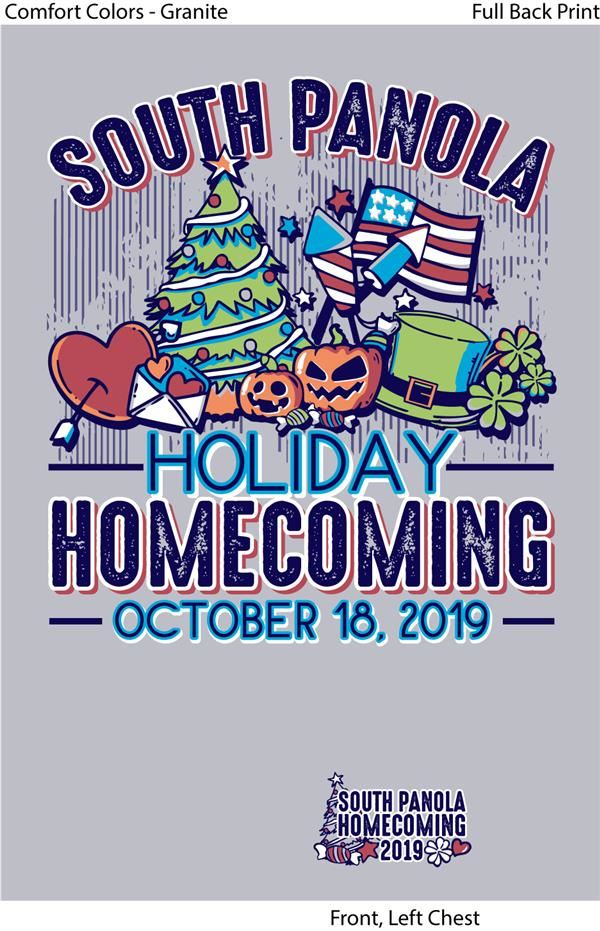 SPHS 2019 Homecoming T-Shirts