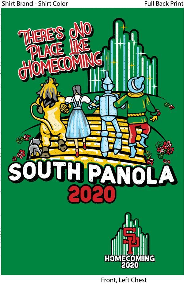 SPHS 2020 homecoming shirts on sale now