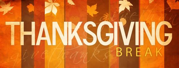 SPSD schools, offices closed for Thanksgiving Break