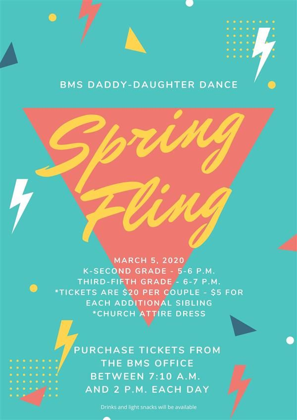 BMS to host Daddy-Daughter Dance on March 5