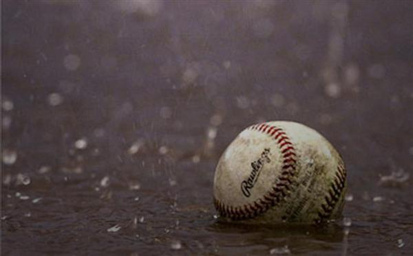 Wet weather forces cancellation of games on March 27