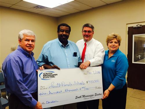 SMEPA presents donation to school district