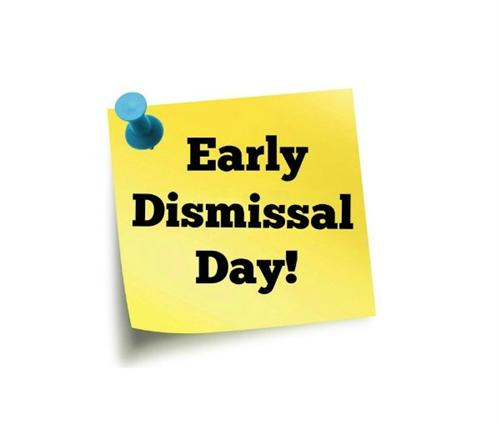 SPSD schools will dismiss early today