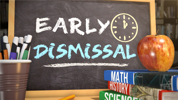 SPSD schools to dismiss early May 25