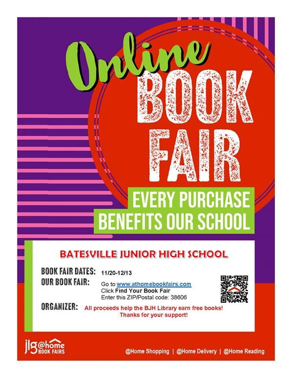 BJHS Virtual Book Fair