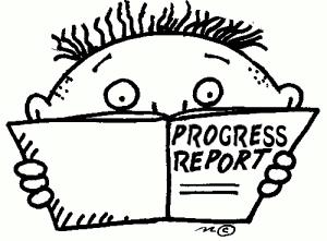 Image result for progress reports clipart