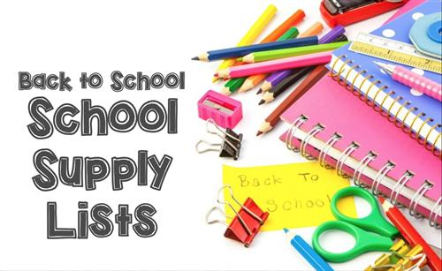 SPSD schools announce supply lists for 2017-18 school year