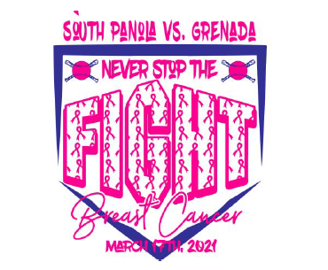Fast Pitch Booster Club selling Strike Out for Cancer Shirts