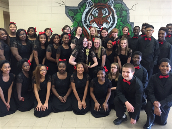 BJHS Tiger Choir headed to state